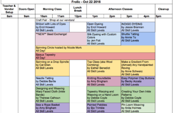 2016-10-frolic-schedule