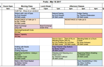 2017_Spring_Frolic_Schedule_-_Schedule_pdf